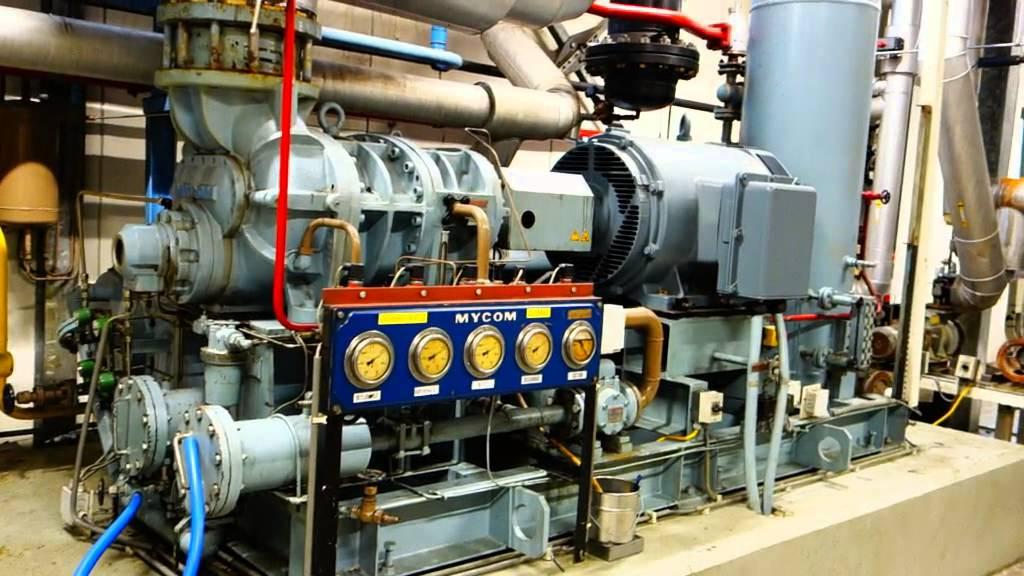 Screw Compressor - Mycom N250SUD-HE