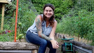 FULL Garden Tour Week 5 | Heirloom Potager Tour | Roots and Refuge Farm