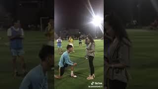 Ước mơ của tất cả nhưng thằng con trai yêu bóng đá - Nguồn Tik Tok