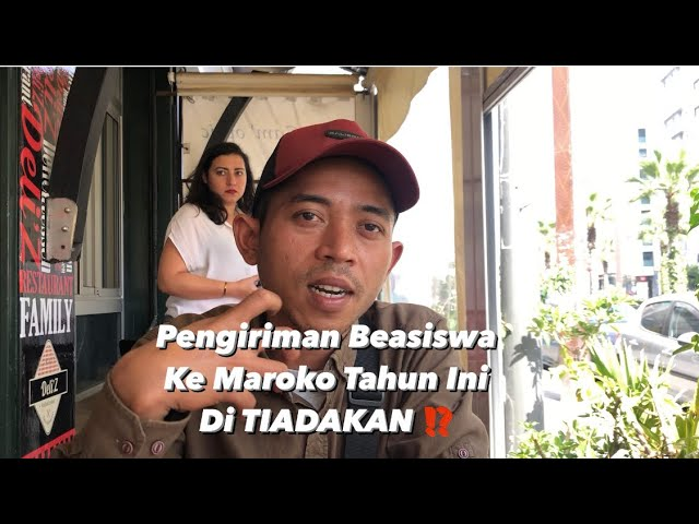 IMBAS CORONA, PENGIRIMAN MAHASISWA INDONESIA KE MAROKO DI TIADAKAN ⁉️
