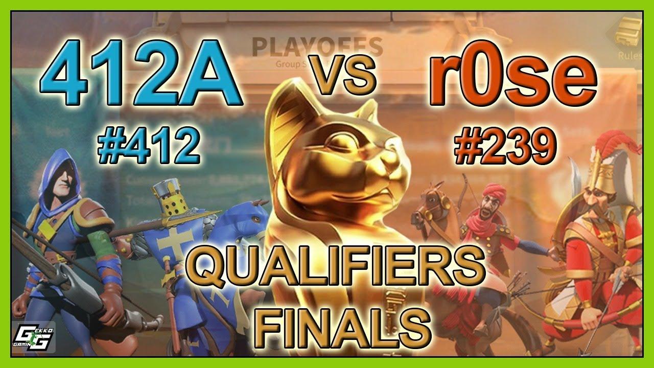 412A vs r0se - QUALIFIERS FINALS - Osiris League S3 Live - Rise of Kingdoms