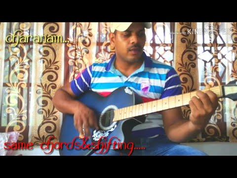 AARADHANA YESU NEEKEY,/perfect Guitar Lesson, With Simple Chords,/satish Telugu Guitar Songs