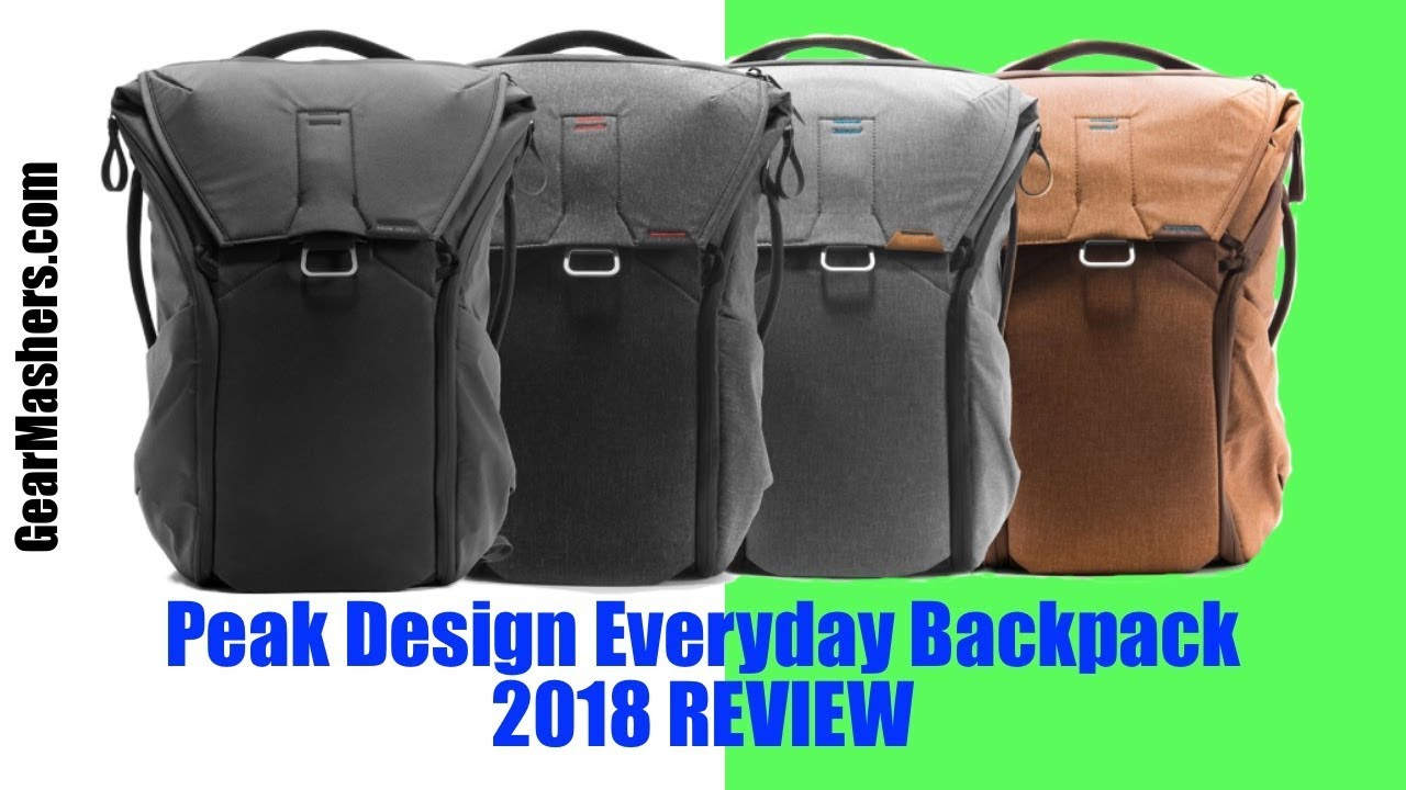 81a2fd5507dc Peak Design Everyday Backpack 20L Review (Better Than I Expected) 2018