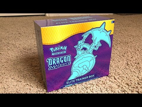 *HYPER RARE PULL!* Unboxing Pokemon Cards DRAGON MAJESTY ELITE TRAINER BOX!