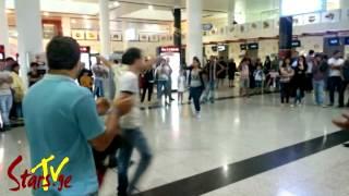 ქართველები თბილისის აეროპორტში - ეს უნდა ნახო