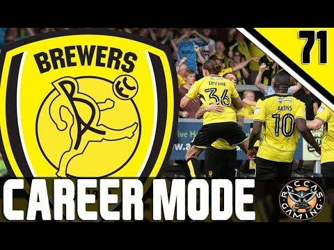 LIVE!!! FIFA 17 BURTON ALBION Career Mode #71 @RaccasGaming