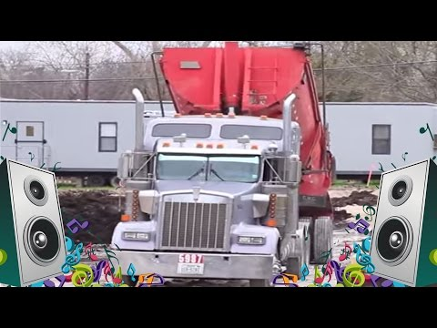 Dump Truck Song for Children - Kids Truck Music Video