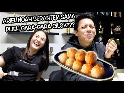 VLOG #17 - PIJEH GENGGES! Ariel Noah & Laissti Berantem Gara-Gara Cilok