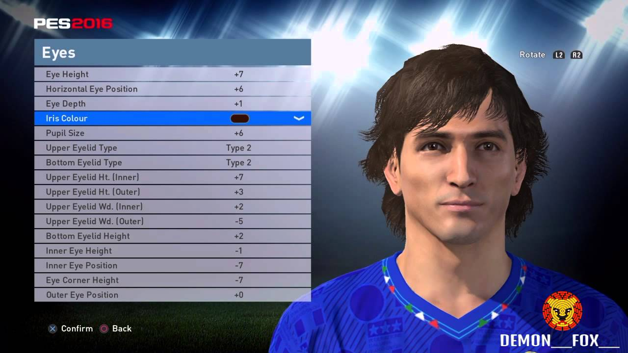 PES 2016 Paolo Rossi face stats