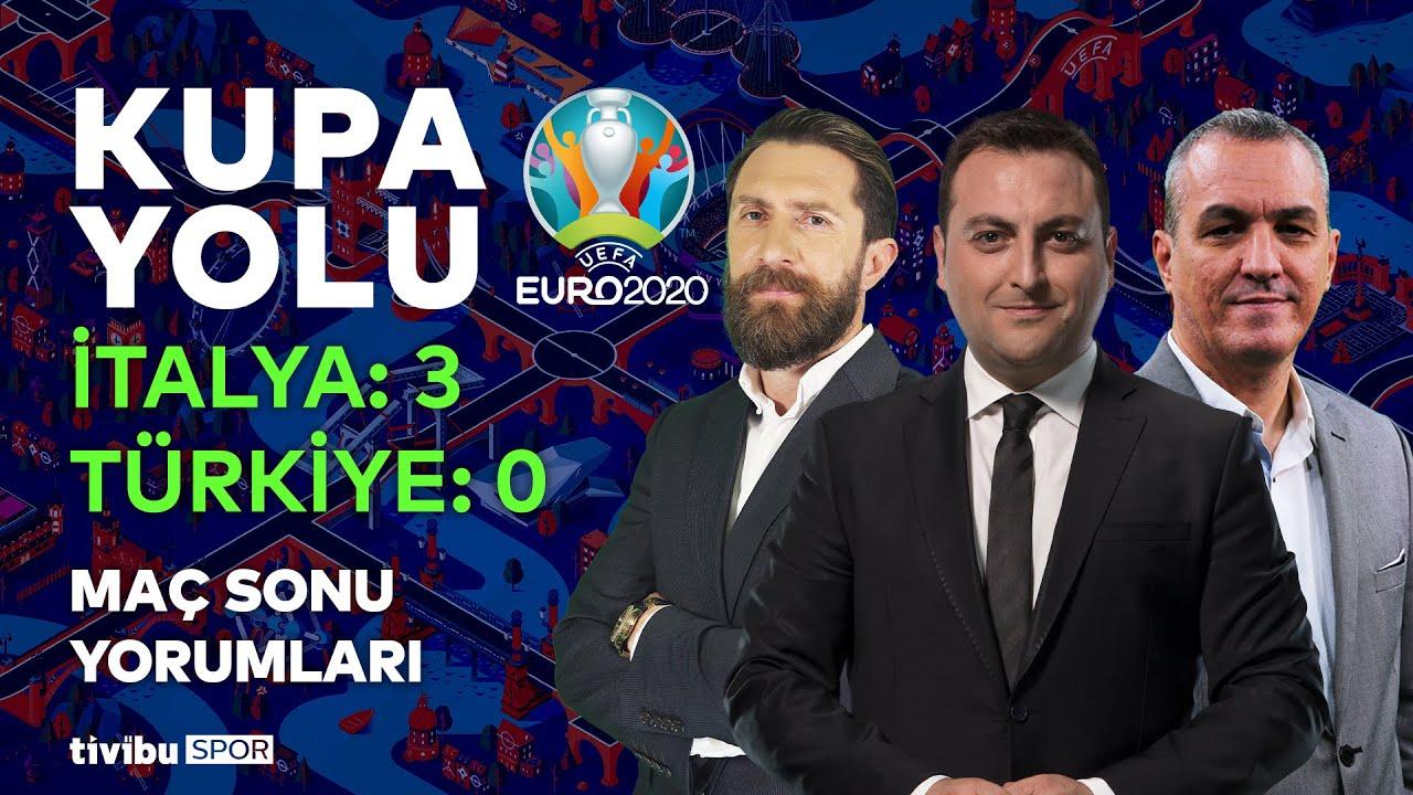 İtalya 3-0 Türkiye   Kupa Yolu - Erkut Öztürk & Erman Özür & Altan Tanrıkulu #EURO2020