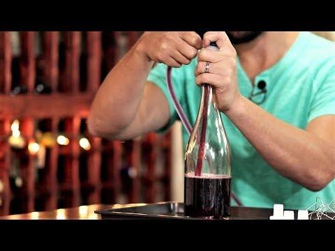 Simple Champagne Bottle Filler