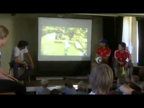 One Ball  One World - Erfurt - Introduction Morocco Freestyler.