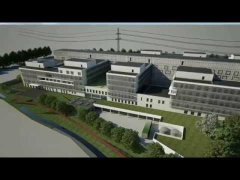 Nieuwbouw AZ Sint-Maarten - 3D film met binnen en buiten beeldanimatie