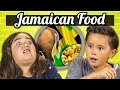 KIDS EAT JAMAICAN FOOD | Kids Vs. Food