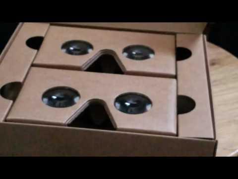 Google Cardboard V2.0 Unboxing