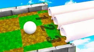 КАКАЯ ТРУБА ВЕДЕТ К ФИНИШУ? С ПЕРВОГО РАЗА УГАДАЛ ВЕРНЫЙ ПУТЬ К СЛОЖНОЙ ЛУНКЕ В ГОЛЬФ ИТ (Golf It)