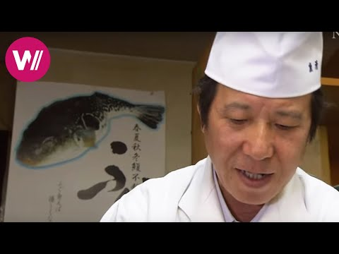 "Fugu | how to prepare the deadly pufferfish shown by ""Uosei"" chef Rikizo Okamoto 