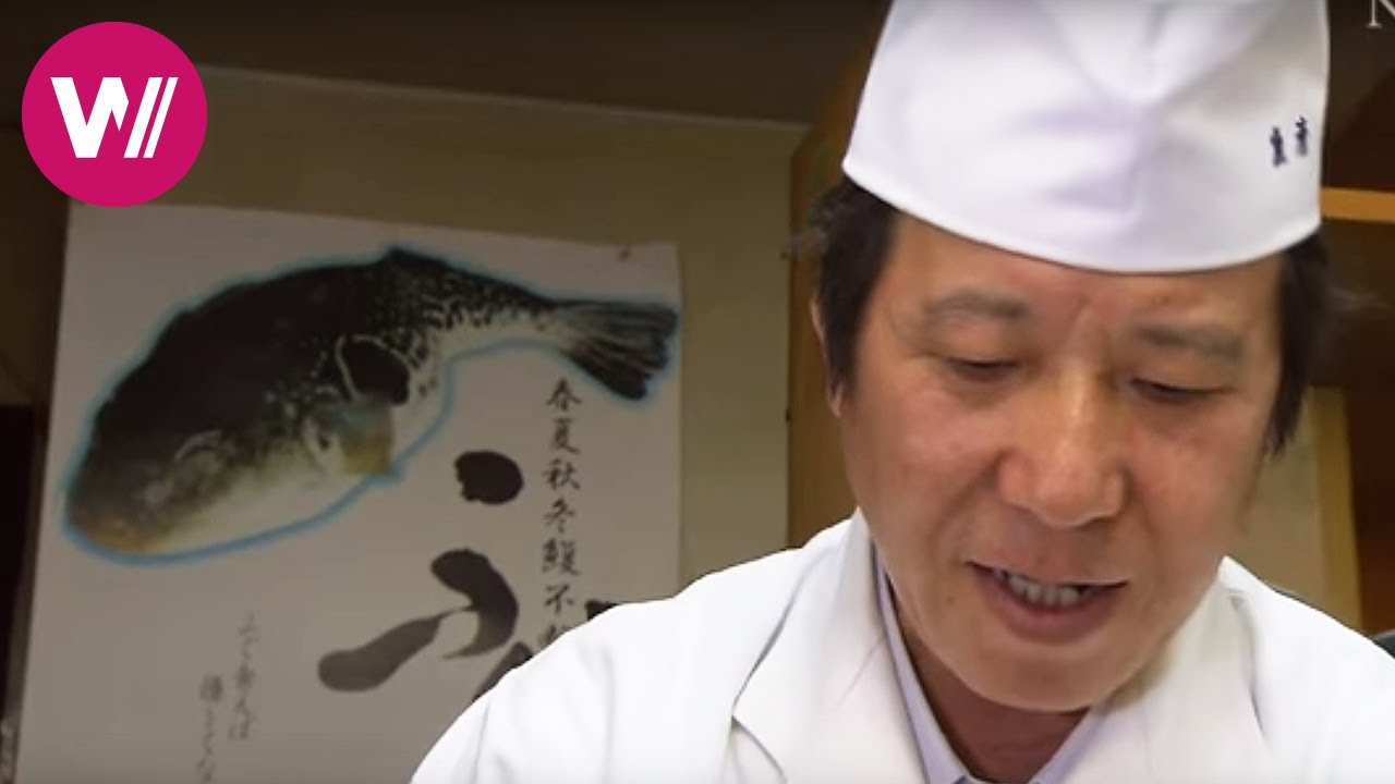 Fugu | how to prepare the deadly pufferfish as shown by