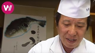 "Fugu | how to prepare the deadly pufferfish as shown by ""Uosei"" chef Rikizo Okamoto 