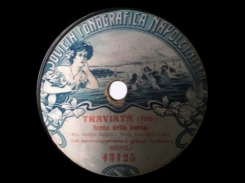 LA TRAVIATA Recordings 1904-1914