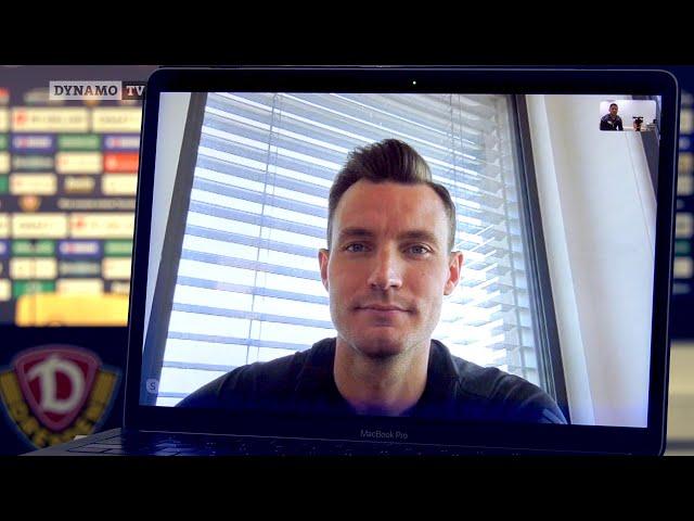 Skype-Interview mit Mannschaftskapitän Florian Ballas