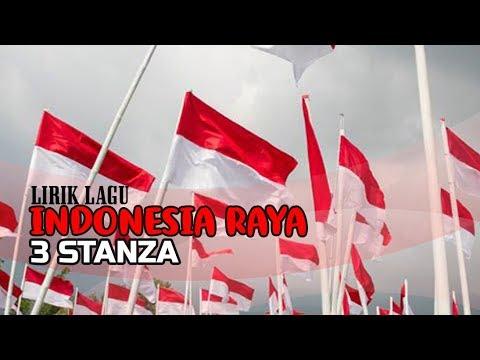 Lirik Lagu Indonesia Raya 3 Stanza Youtube