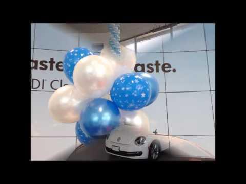 Volkswagen Showroom Balloon Displays