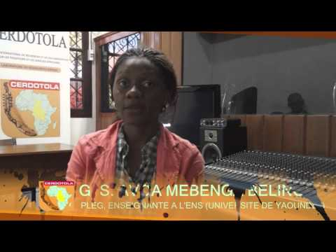 Séminaire TIC-Système Educatif : Itw de Avoa Mebenga Belinga Sandrine G.