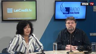 "Александр Немировский и Ирина Буряченко в программе ""Утро на Балткоме""  #MIXTV"