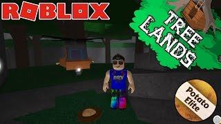 ROBLOX-Potato Elite Badge HARVESTING 500 POTATOES (TreeLands)