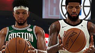 PG13 EXPOSED ME! Kawhi Leonard Dunked On Tatum! NBA 2K20 Eli Harris #5