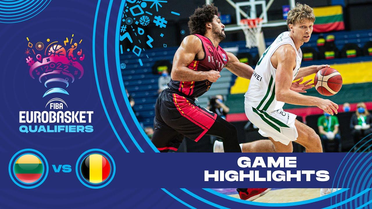 Lithuania - Belgium | Highlights