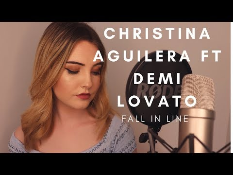 Christina Aguilera Ft Demi Lovato - Fall In Line (Jenny Jones Cover)