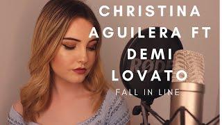 Christina Aguilera Ft Demi Lovato - Fall in Line (Jenny Jones Cover)