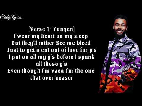 Yungen ft. Dappy - Comfortable (Official Lyrics Video)