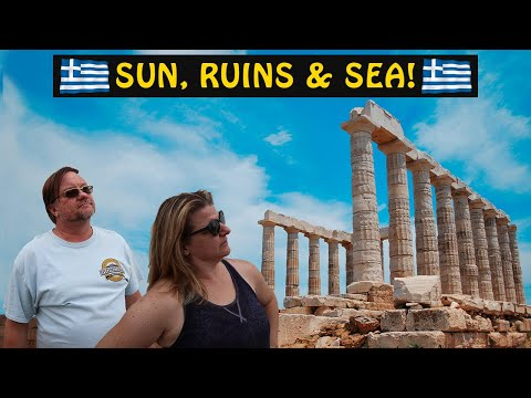 The Temple Of Poseidon SOUNION GREECE | Travel Vlog Series