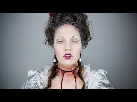 MARIE ANTOINETTE Halloween Makeup Special Effects SFX