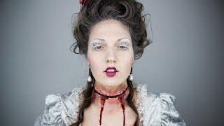 MARIE ANTOINETTE SFX Halloween Makeup