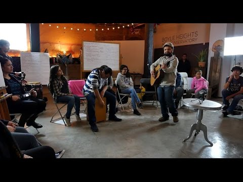 Collective Songwriting in Boyle Heights
