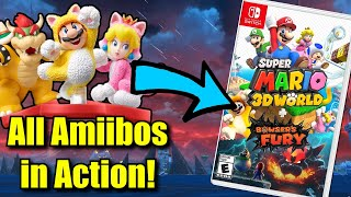 What Do ALL Amiibos Do in Super Mario 3D World + Bowser's Fury?