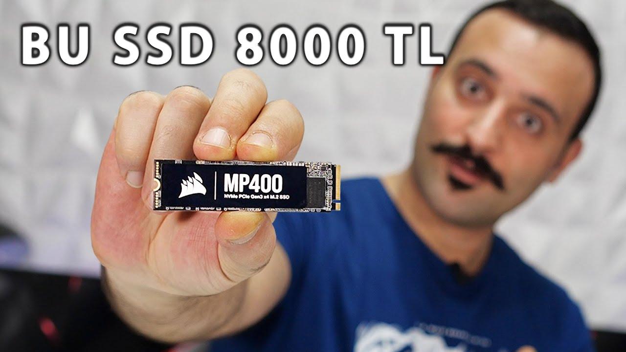 Ufacık M.2 SSD 8TB!  Yeni Corsair MP400 SSD'yi İnceliyoruz