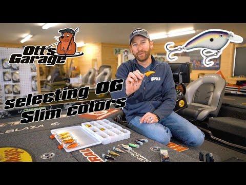 Ott's Garage: Talking Rapala OG Slim color selection
