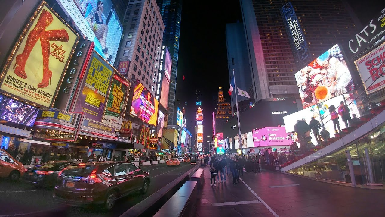 Image result for photos of times square at christmas