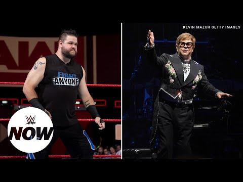 Kevin Owens vs. Elton John at WrestleMania?: WWE Now