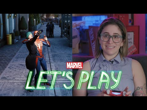 """Gaby Dunn presses the """"crime"""" button in Marvel's Spider-Man for PS4"""