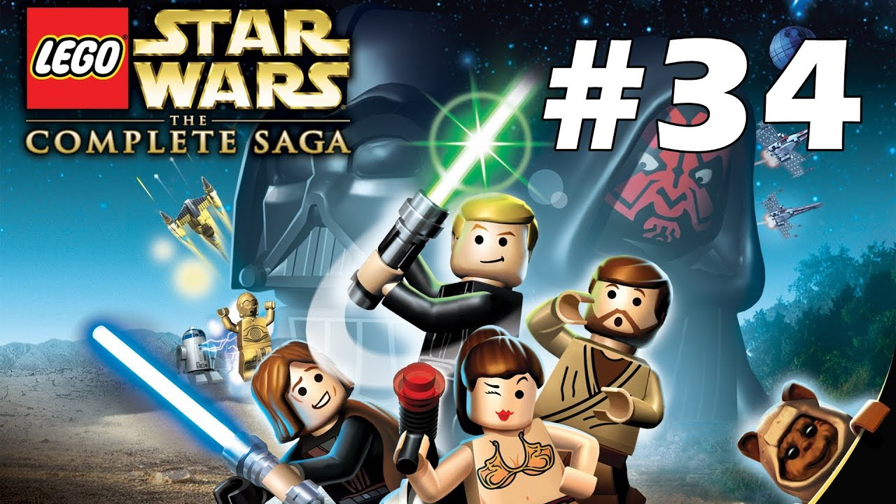 Lego Star Wars The Complete Saga Episode 6 Chapter 4 The