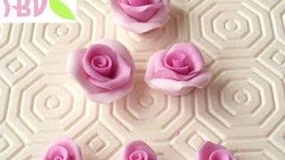 Tutorial: Roselline in pasta di mais + ricetta - Maize dough roses