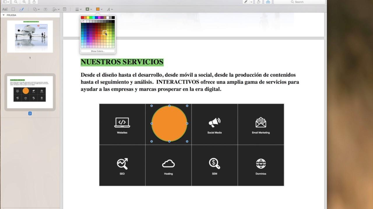 Programa útil para editar gratis documentos PDF