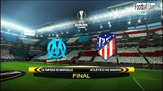 PES 2018 | Final UEFA Europa League | Marseille vs Atletico Madrid | Amazing Becycle Kick Goal