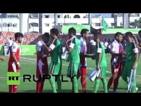State of Palestine: West Bank football team plays in Gaza for first time in 15 years